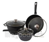 """Набор кухонной посуды №1 с антипригарным покрытием, линия """"Традиция"""" (к41а, с247а, к017а) нкп01а"""
