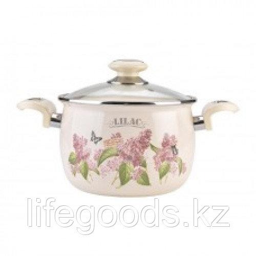 Кастрюля 3,5л Ветка сирени/Lilac L91913лилак