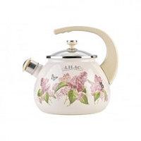 Чайник 2,5л Ветка сирени/Lilac L92711лилак