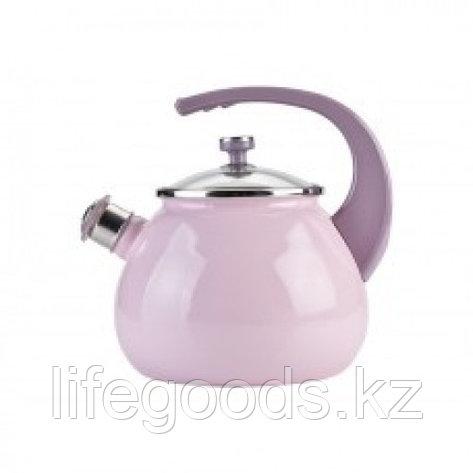Чайник 2,5л Розовый L92711розов, фото 2