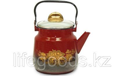 Чайник со стеклянной крышкой 3,5л, 06-2713С/10, фото 2