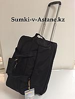 Дорожная сумка на колесах с увеличением. Высота 33 см, ширина 51 см, глубина 28 см., фото 1