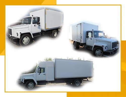 Газон 3309 (изотермический фургон)