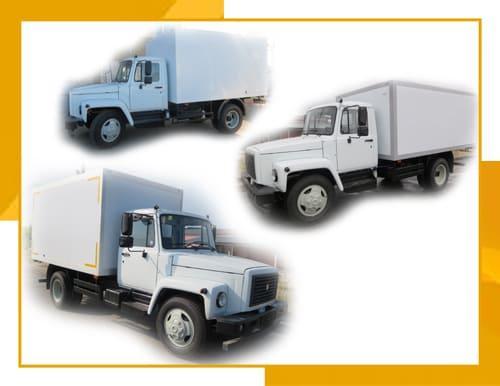 Газон 3309 (промтоварный фургон)