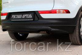 Тюнинг обвес заднего бампера Вариант 1  KIA Sportage 2014-