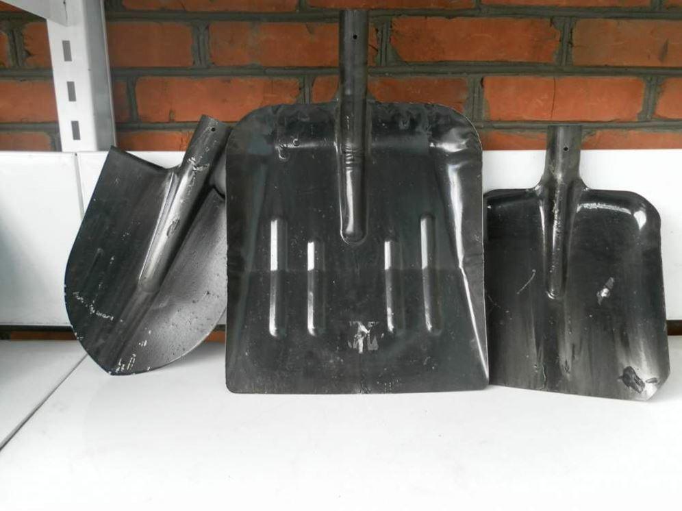 Лопата снегоуборочная полукруглая