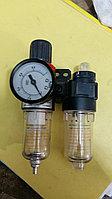 Воздушный фильтр с регулятором и лубрикатором пластик