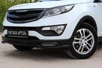 Тюнинг обвес переднего бампера Вариант 1  KIA Sportage 2014-, фото 2