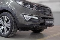 Тюнинг обвес переднего бампера Вариант 2 KIA Sportage 2014-, фото 2
