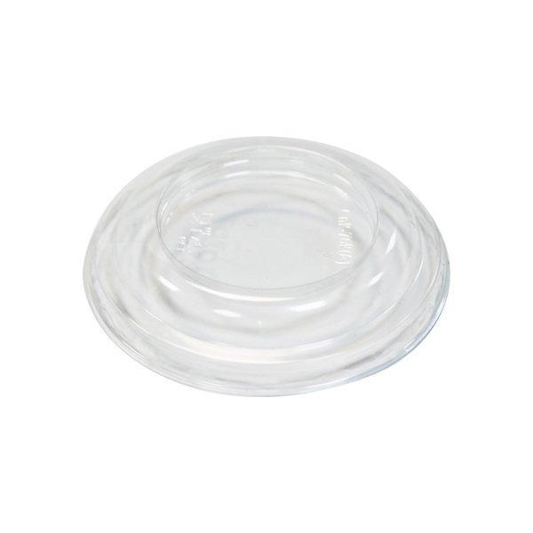 Крышка д/конт., кругл., d 76мм, h 13мм, прозрачн., ПЭТ, 2000 шт