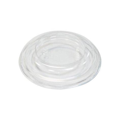 Крышка д/конт., кругл., d 76мм, h 13мм, прозрачн., ПЭТ, 2000 шт, фото 2