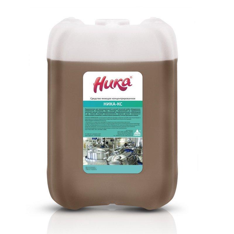 Средство моющее концентрированное «Ника-КС» 7кг