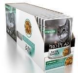Pro Plan STERILISED 24шт 85г Океаническая рыба Влажный корм для стерилизованных кошек ПроПлан, фото 1