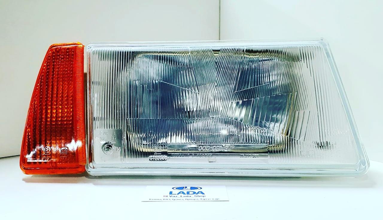 Блок фара ВАЗ 2108 правая с желтым у/п. СЕВиЕМ.
