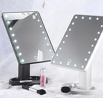 Косметическое зеркало с управляемой яркостью освещения (с сенсорным управлением)