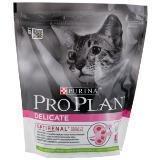Pro Plan Delicate 400г Ягненок Сухой корм для взрослых кошек привередливых в еде