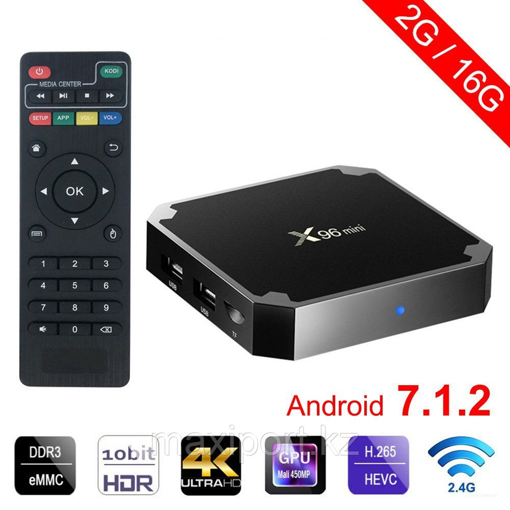 Smart Tv Box X96Mini  2gb/16gb