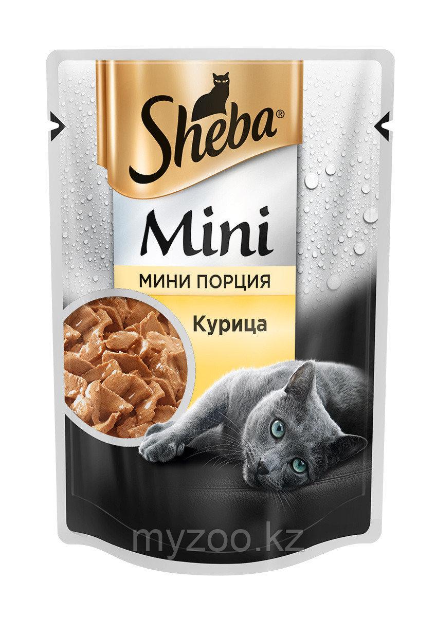 Sheba mini с курицей, 50 гр.   Шеба мини влажный корм для кошек  