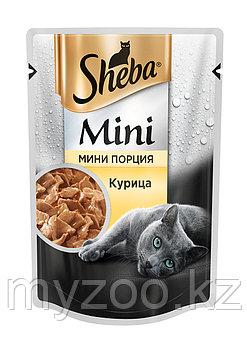 Sheba mini с курицей, 50 гр. | Шеба мини влажный корм для кошек |