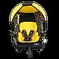Детское автокресло SIGER серия Disney baby Эгида Люкс Винни Пух кружки, фото 6