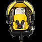 Детское автокресло SIGER серия Disney baby Эгида Люкс Винни Пух кружки, фото 3
