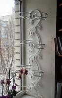 """Подставка для цветы """"Корфу-8"""" настенная"""