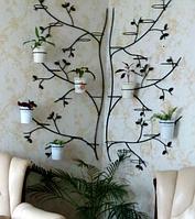 """Подставка для цветы 2в1 """"Дерево-углавая"""""""