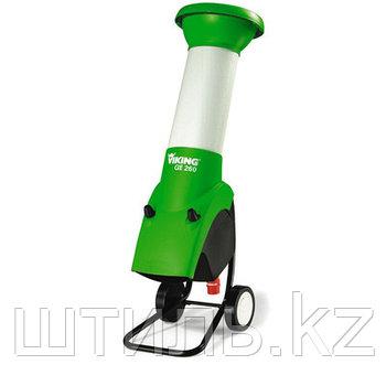 Измельчитель веток Viking GE 260 (2,9 кВт | 380В | 35 мм) электрический садовый