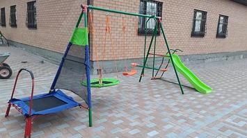 Детские уличные комплексы