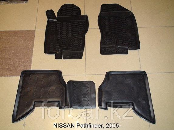 Коврики Novline в салон NISSAN Pathfinder, 2005 - 2013, фото 2