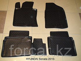 Коврики Novline в салон HYUNDAI Sonata 2010->, фото 2