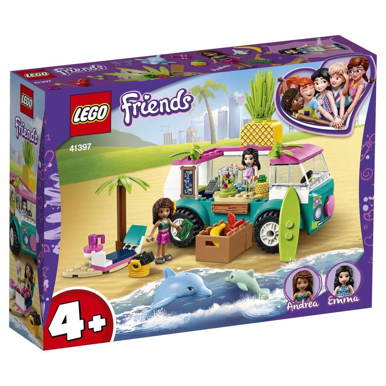 41397 Lego Friends Фургон-бар для приготовления сока, Лего Подружки