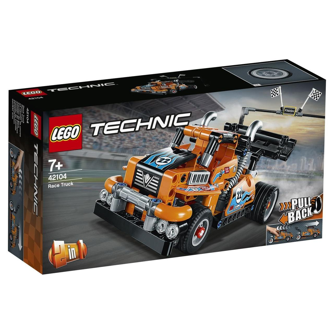 42104 Lego Technic Гоночный грузовик, Лего Техник