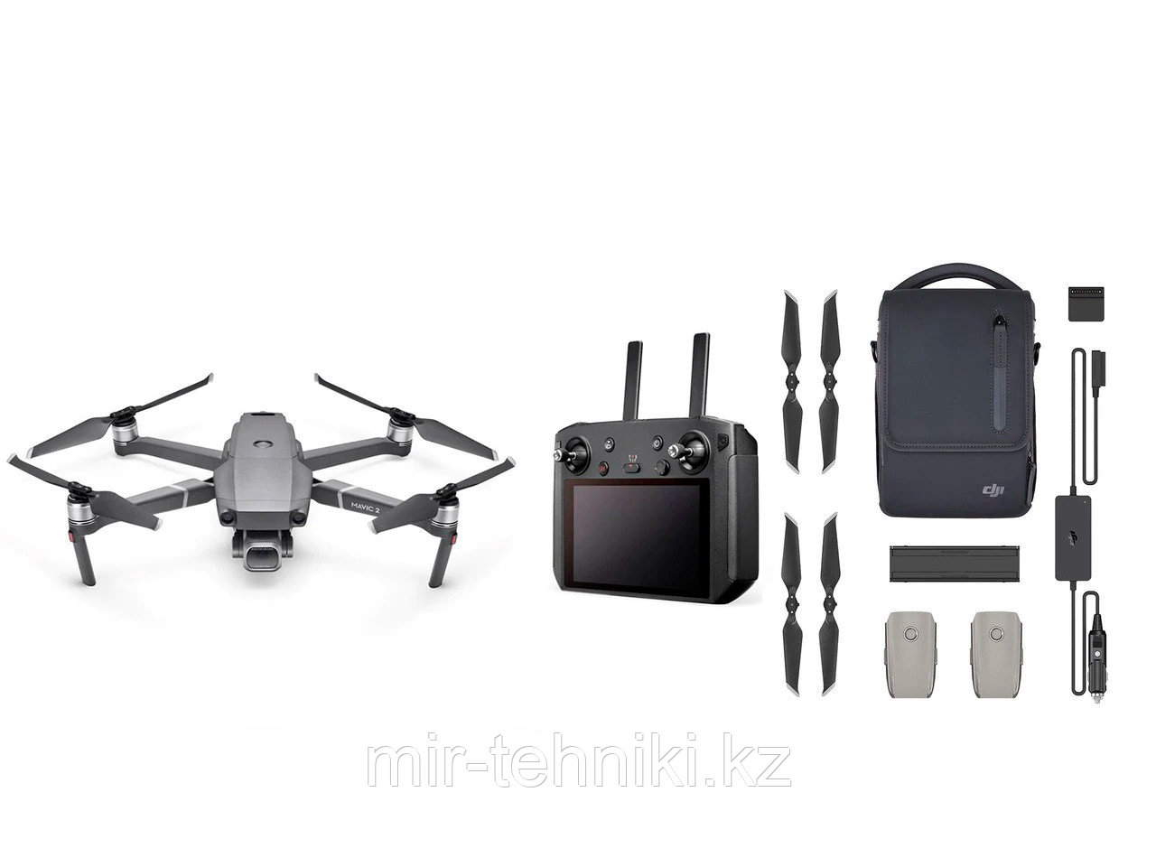 DJI Mavic 2 Pro с  Smart Controller (16GB EU) Fly More Kit