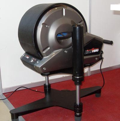 Спортивный тренажер для растяжки шпагата.  БМС тренажер Бизон-ВИБРО.