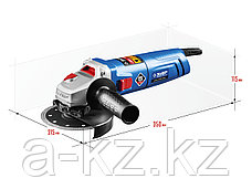 Углошлифовальная машина (болгарка), ЗУБР УШМ-П125-850, пылезащита, 125 мм, 11000 об/мин, 850 Вт, фото 2