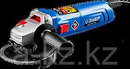 Углошлифовальная машина (болгарка), ЗУБР УШМ-П125-1000, пылезащита, 125 мм, 11000 об/мин, 1000 Вт
