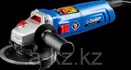 Углошлифовальная машина (болгарка), ЗУБР УШМ-П125-1000, пылезащита, 125 мм, 11000 об/мин, 1000 Вт, фото 2