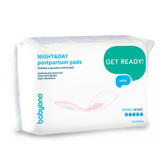 Прокладки послеродовые NIGHT&DAY BabyOno