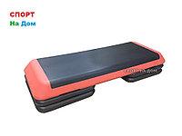 Степ платформа для фитнеса красная ( Габариты: 110 х 41 х 21 см )