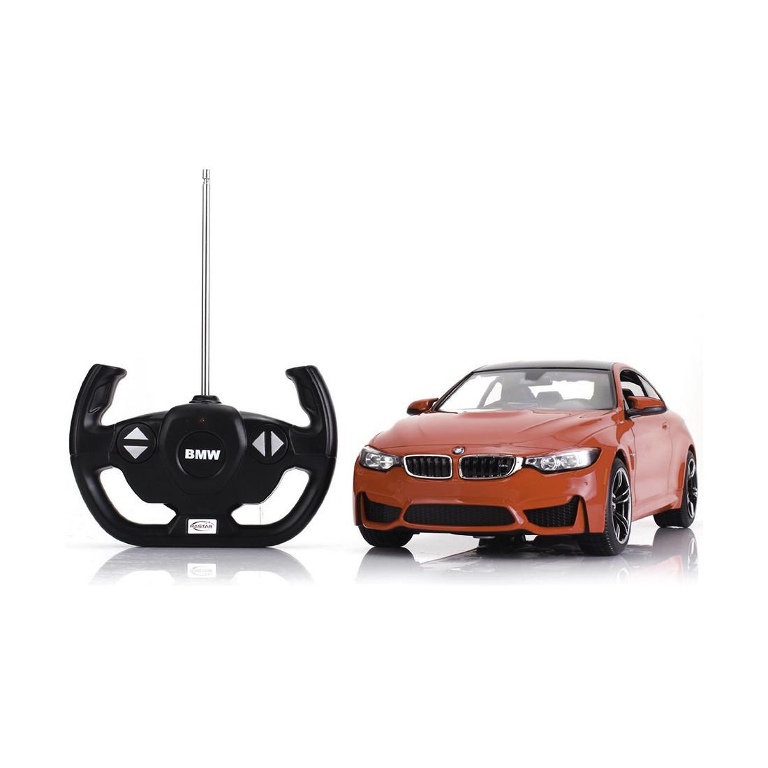 Радиоуправляемая машина RASTAR 70900R 1:14 BMW M4 Пластик 27 Mhz Красный