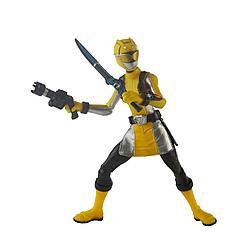 Hasbro Могучие рейнджеры. Фигурка Желтый Рейнджер с боевым ключом (15 см)