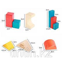 Деревянный конструктор- 28 деталей, фото 2