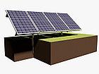 Система креплений солнечных панелей на 4 модуля, фото 2