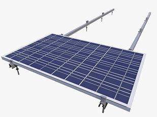Система креплений солнечных панелей для скатной кровли