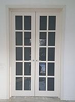 Дверь двухстворчатая на заказ