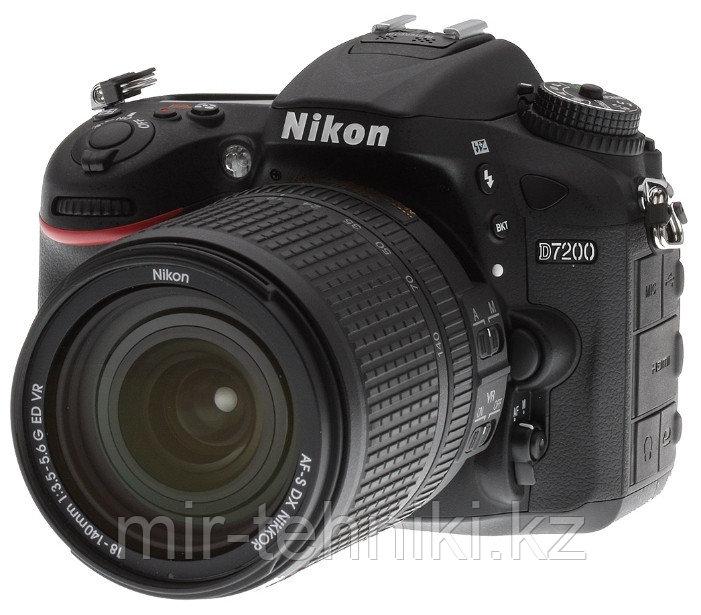Фотоаппарат Nikon D7200 kit 18-140 VR + Батарейный блок