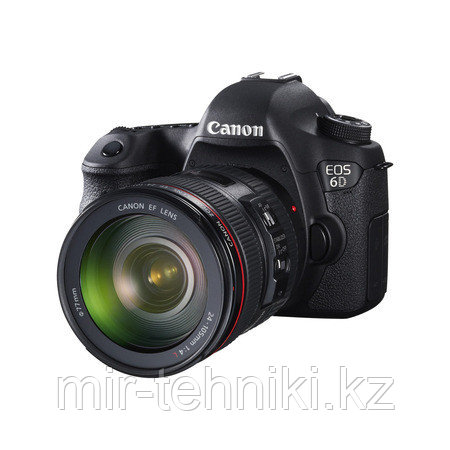 Фотоаппарат  Canon EOS 6D WG  Kit 24-105 F/4 L IS II USM  WI-FI + GPS + Батарейный блок