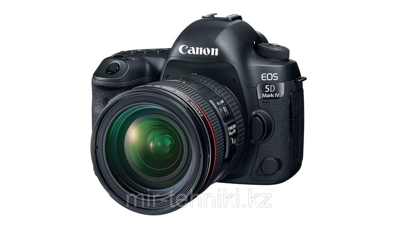 Фотоаппарат Canon EOS 5D MARK IV KIT  24-105MM F4 L IS II USM + Батарейный блок