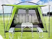 Большая Палатка-Шатер с дном, TravelTop Tuohai CT-1328 (300x300x215), доставка